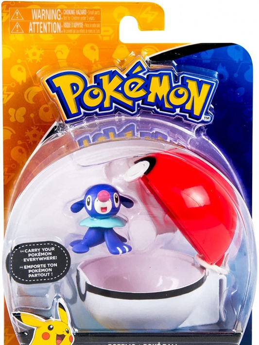 Pokemon Clip and Carry Popplio with Pokeball